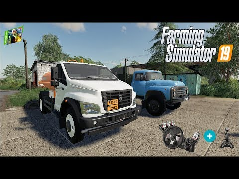 Farming Simulator 19 - Рассвет - 14 - Убираем рапс, обновки в хозяйстве