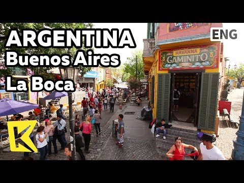 【K】Argentina Travel-Buenos Aires[아르헨티나 여행-부에노스아이레스]이주민 정착지 보카지구/La Boca/Paris/Immigrant/Tango