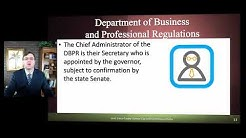 DEPARTMENT OF BUSINESS AND PROFESSIONAL REGULATION (DBPR)