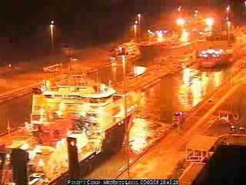RRS James Cook - Panama Canal - Northbound