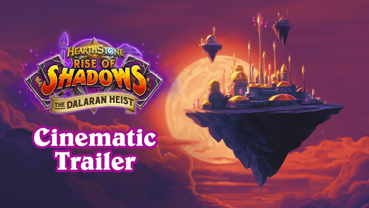 Here's the Plan! | Hearthstone The Dalaran Heist Cinematic thumbnail