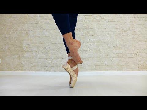 Studio Tańca Artistic - Agnieszka Janura - Ballet Pointe workout - jak pracuje stopa w pointach