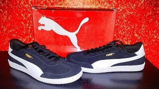 UNBOXING Puma 63 Men's Astro Cup Leather Sneakers7(2018)