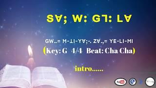 Lisu song lyrics ~ SV; W G7 LV= (GW-. M THI YV)