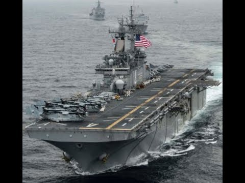 USS Boxer Downs Iranian Drone in 'Defensive Action'