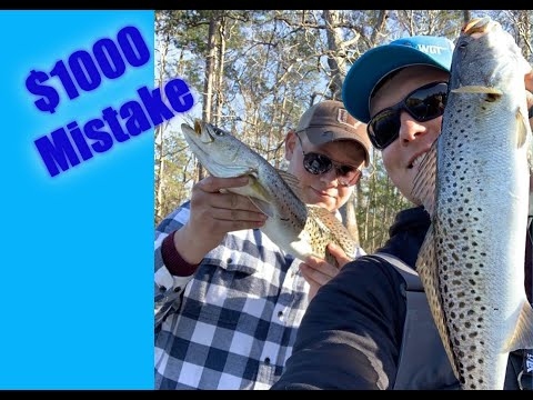 How To Catch Red Drum & Speckled Trout With A MirroLure- The Basics To Inshore Fishing With A 17MR