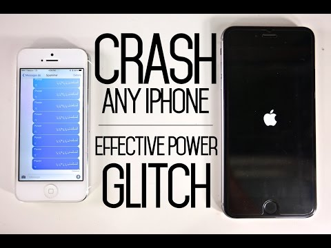 How To Crash ANY IPhone With Text Message Glitch - Effective Power Bug & Fix