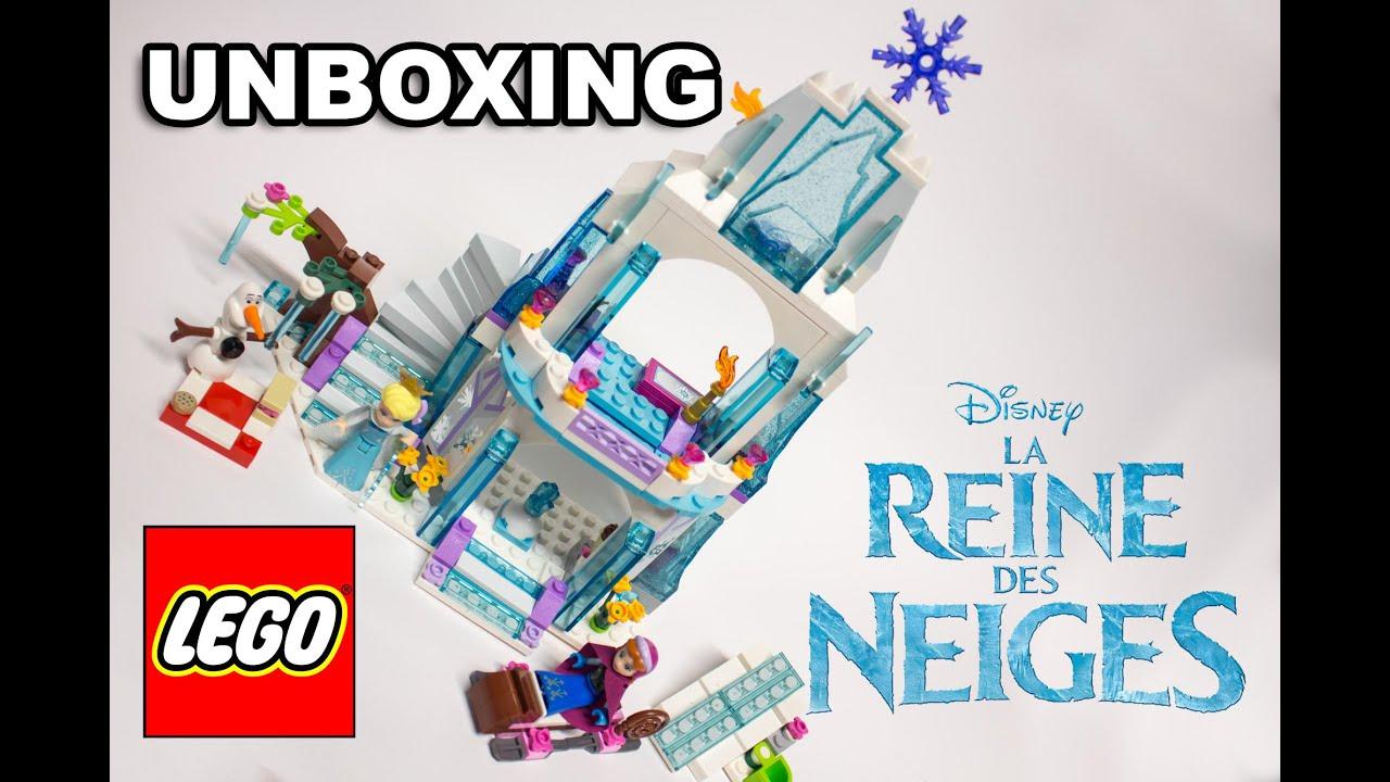 Déballage Du LEGO LA REINE DES NEIGES (unboxing)