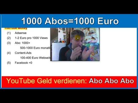 Youtube Videos Geld Verdienen