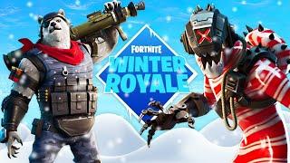 Frozen Legends Pack + Winter Royale Duo Tournament! (Fortnite Battle Royale)