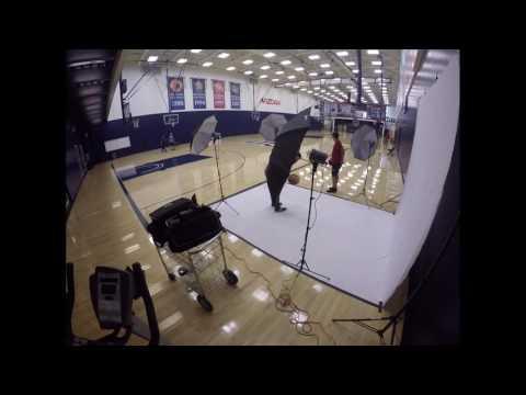 WATCH: Time Lapse Arizona Basketball Photo Day