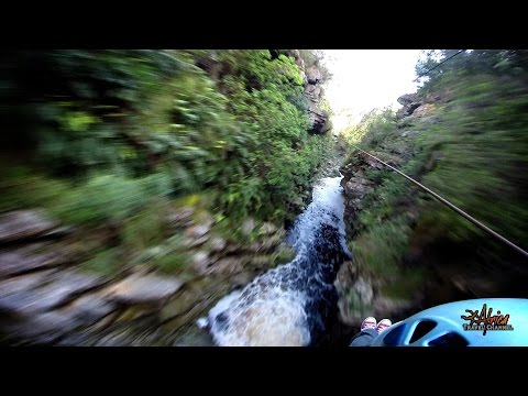 Tsitsikamma Falls Adventures - Zip-Line TsiTsiKamma - Africa Travel Channel