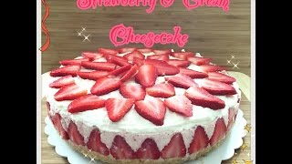 Strawberry & Cream Cheesecake