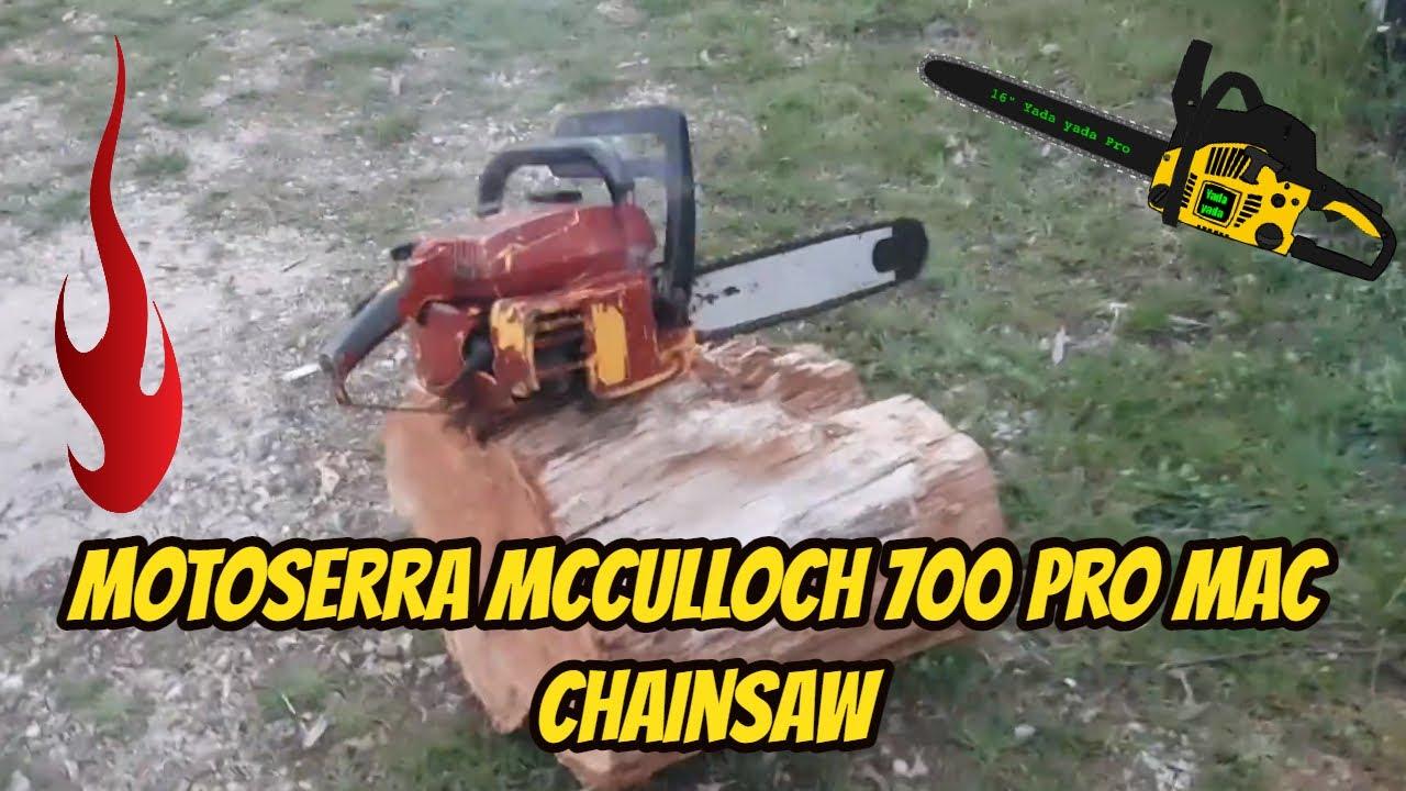 Motoserra Mcculloch 700 Pro Mac chainsaw