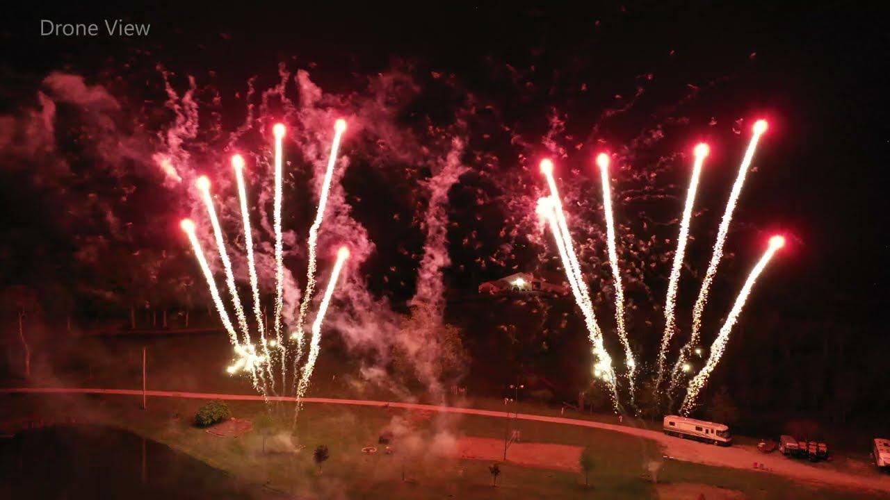 Power of Shooting Multiple Firework Cakes!
