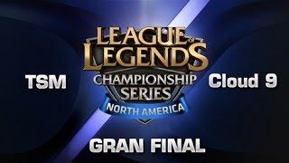 Cloud 9 vs Team Solo Mid - LCS NA - Gran Final - Español - Partido 2