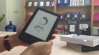 Bóc hộp Máy đọc sách ONYX BOOX C67ML Carta + 8G Wi-Fi Android 4.22 (Phần 1)