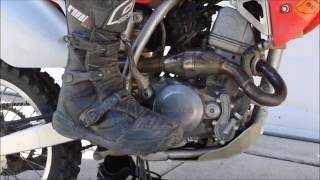 How to Change Transmission oil on Crf150r