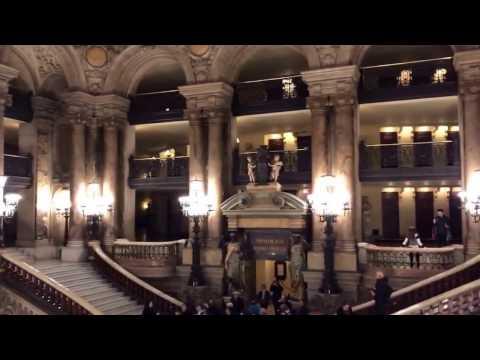 Paris Opera House With Euro