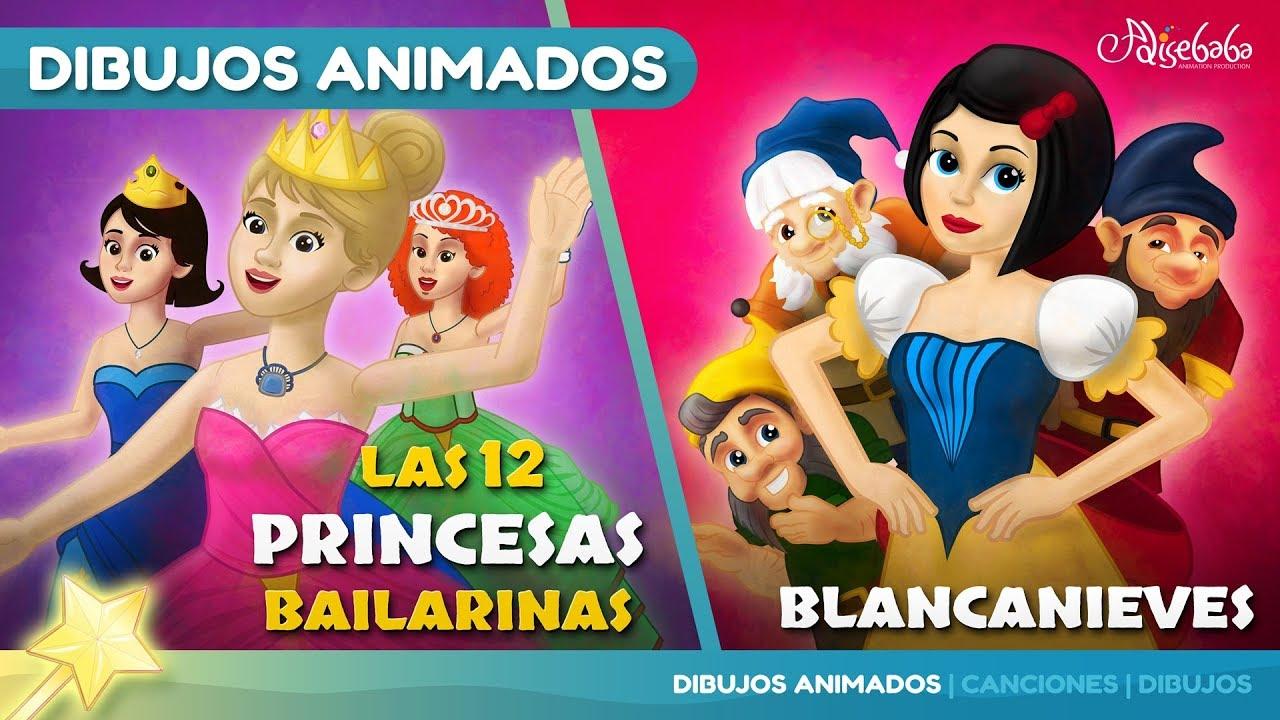 Las 12 Princesas Bailarinas cuentos infantiles para dormir & animados