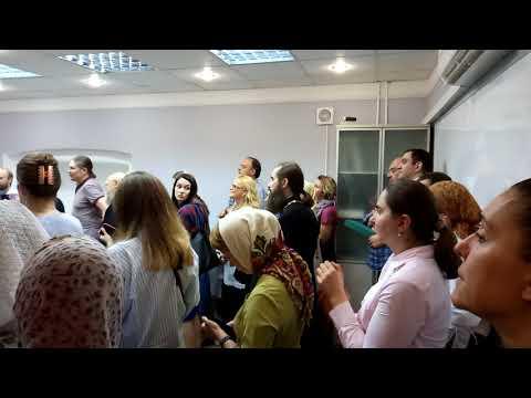 Смотреть Открытие школы Схолион Псалтикис - Исполнение византийских песнопений онлайн