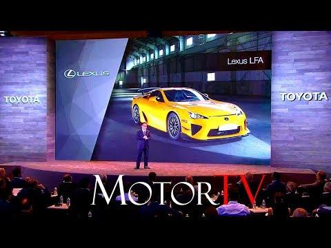 2017 TOYOTA & LEXUS INVESTOR SUMMIT l Akio Toyoda l Full Press Conference (ENG)