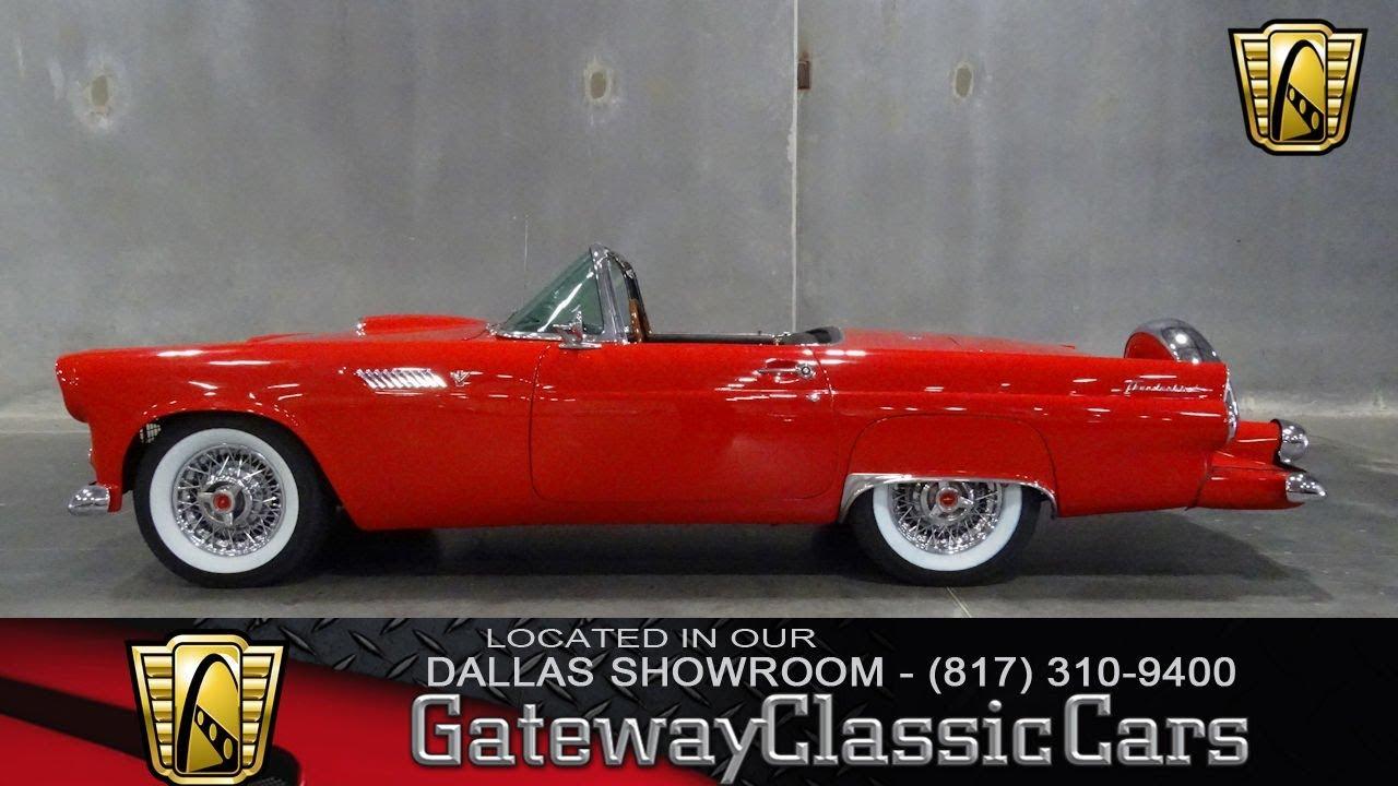 1955 Ford Thunderbird #582-DFW Gateway Classic Cars of Dallas ...