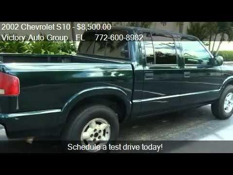 2002 chevrolet s10 ls crew cab 4wd for sale in stuart fl youtube. Black Bedroom Furniture Sets. Home Design Ideas
