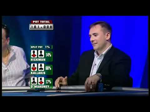 Incredible poker hand!! AA vs KK vs QQ texas holdem