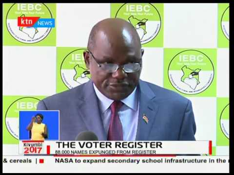 IEBC Registered Voters Per Constituency and per County 2017