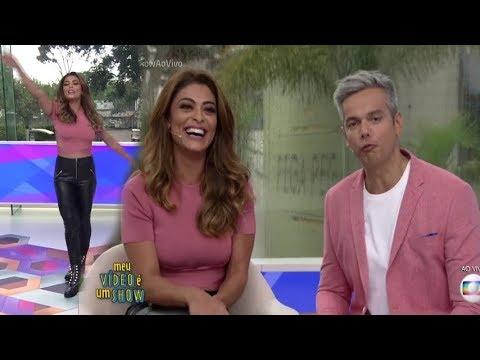 Juliana Paes dança funk e fala sobre vontade de ter outro filho - Vídeo Show28/11/2017