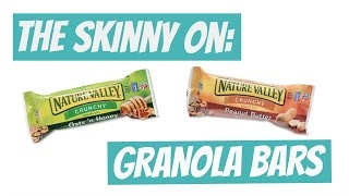 THE TRUTH ABOUT GRANOLA BARS | How Healthy Are They?