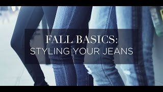 Fall Basic: Styling your Jeans Thumbnail