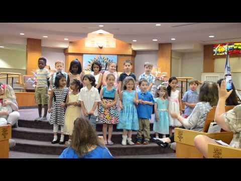 Beth Israel Preschool Graduation 2015