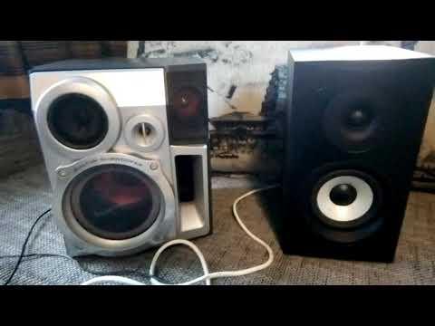 Муз центр AIWA Nsx R80  с акустикой Ultimate TR 5