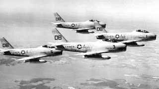north american fj 2 fury fighter 1953 united states training film