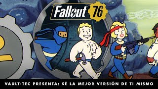 Fallout 76 – Vault-Tec presenta: Sé la mejor versión de ti mismo (vídeo sobre los extras).
