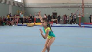 Карина спортивная гимнастика вольные - 1-й юношеский разряд / Karina Artistic Gymnastics Floor