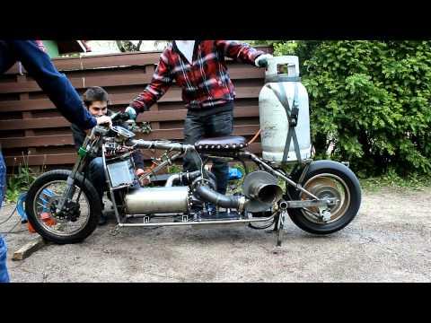 Supercharged Smog Pump Minibike | FunnyDog TV