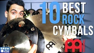 The 10 BEST Rock Cymbals From MEINL - Drum Beats Online