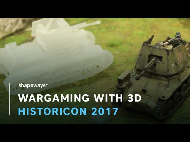 Historicon 2017: How 3D Printing Is Changing the Hobby of Wargaming