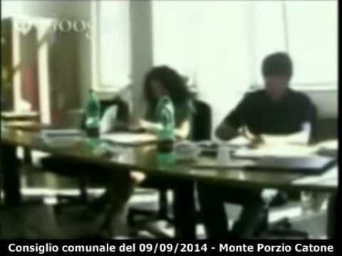 Consiglio comunale del 09/09/2014 - Monte Porzio Catone