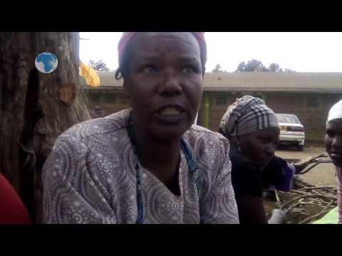 Gakoromone market traders in danger of diseases.