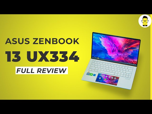 ASUS ZenBook 13 UX334 Review: a screen inside your touchpad!