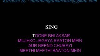 Dheere Dheere Se Meri Zindagi (With Female Vocals) Aashiqui Karaoke