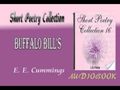 Buffalo Bill's E. E. Cummings Audiobook Short Poetry