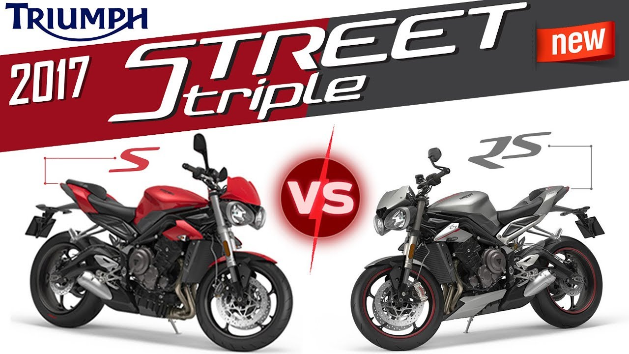 2017 Triumph Street Triple 765 S Vs Rs First Ride India Youtube