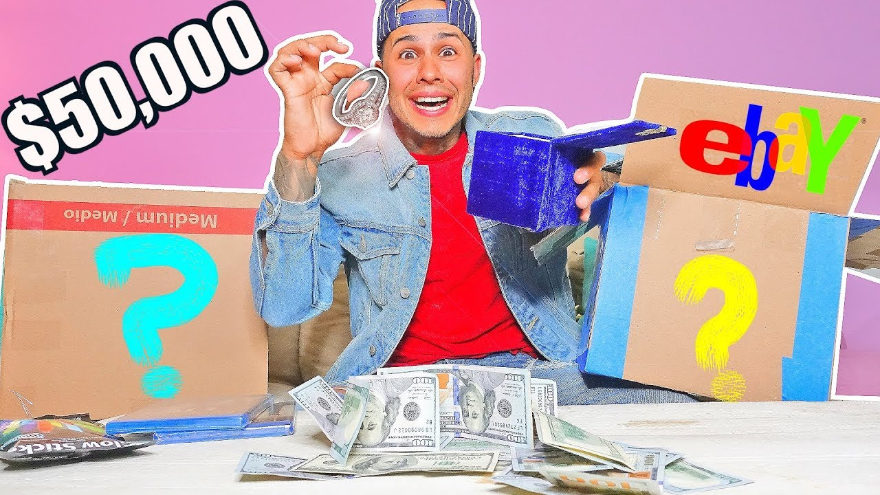 50000 Mystery Box From Ebay You Wont Believe What I Got