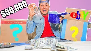 $50,000 Mystery Box From EBAY!! (YOU WON'T BELIEVE WHAT I GOT!!??)