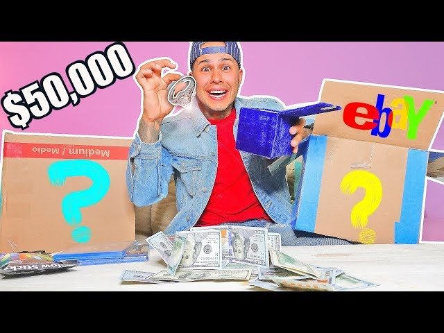 $50,000 Mystery Box From EBAY!! (YOU WONT BELIEVE WHAT I GOT!!??)